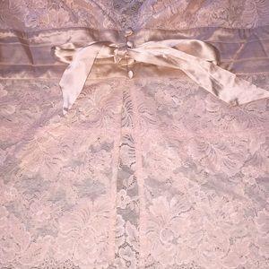 bebe Tops - Bebe boudoir lace feminine top